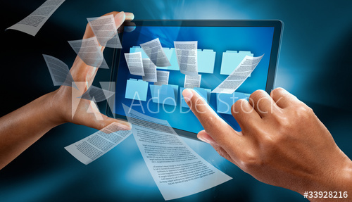 Pasul al doilea. Digitizarea documentelor.